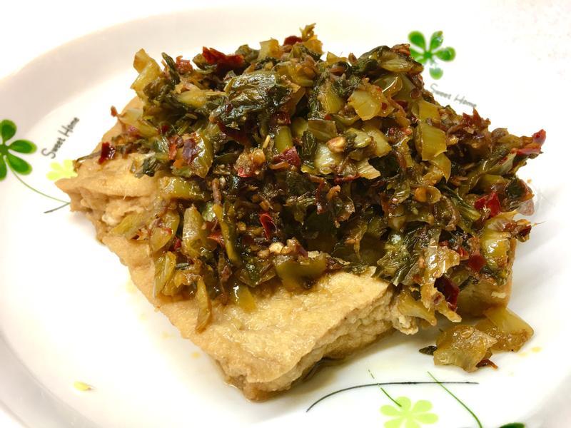 酸菜油豆腐