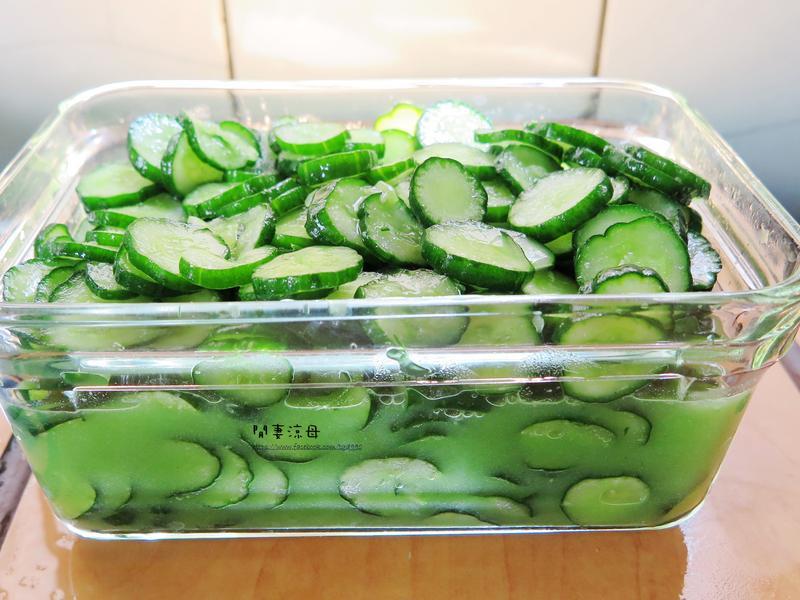 開胃小菜-芥末小黃瓜