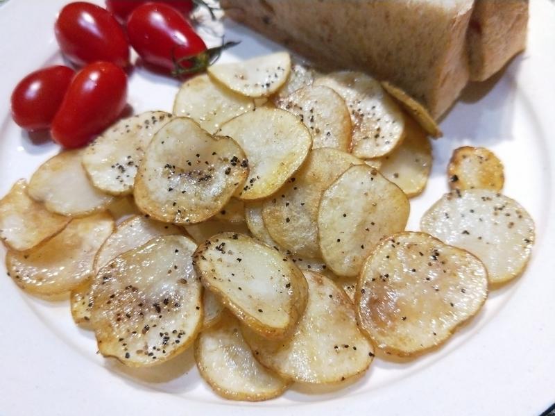 煎奶油薯片