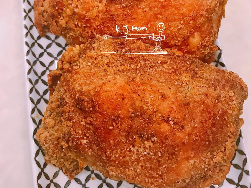 愛柴-咖喱脆皮大雞塊