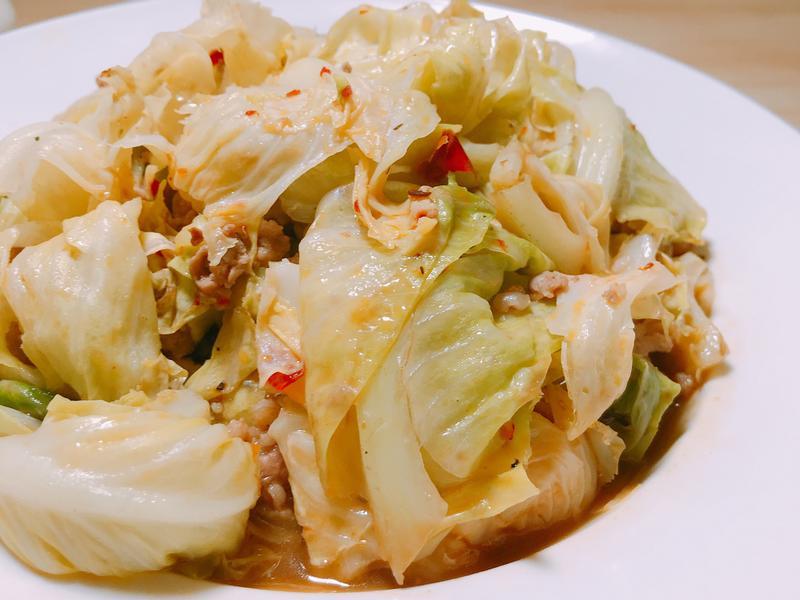 家常菜「醋溜高麗菜」簡易版