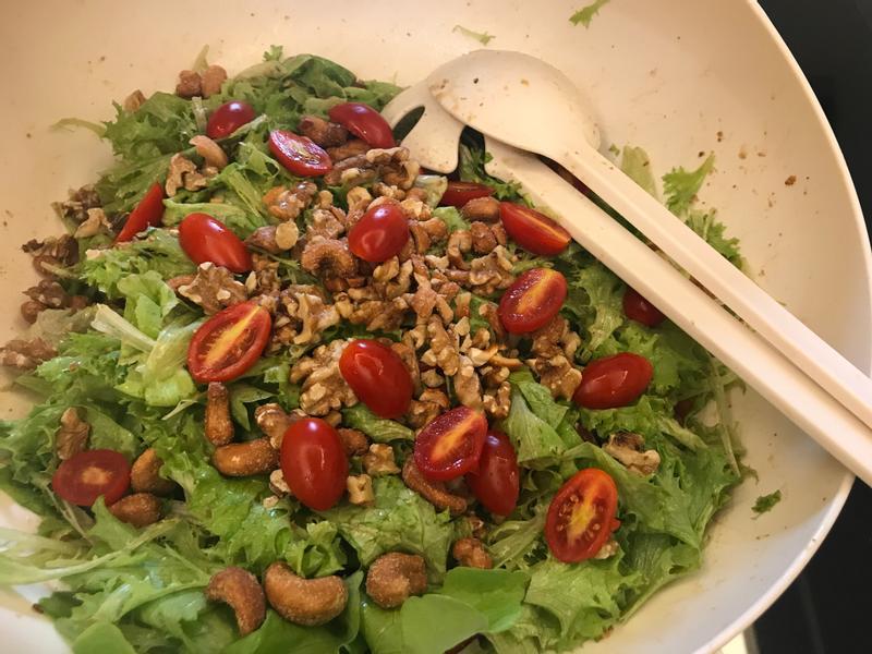 核桃胡麻拌沙拉