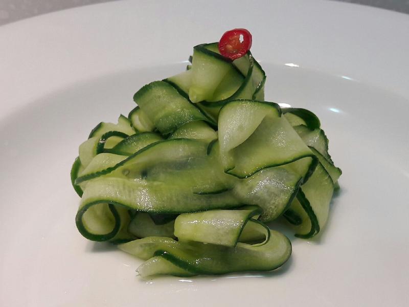 涼拌糖醋小黃瓜薄片~開胃前菜 小菜常備菜