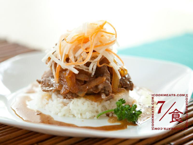 【7/食】和風牛肉煎米餅