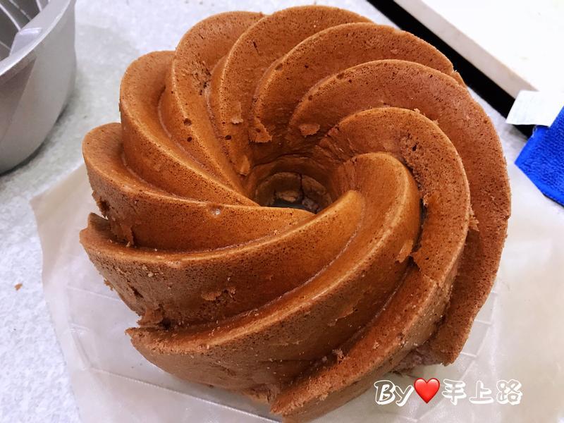法芙娜可可戚風蛋糕(10cup炫風烤模)