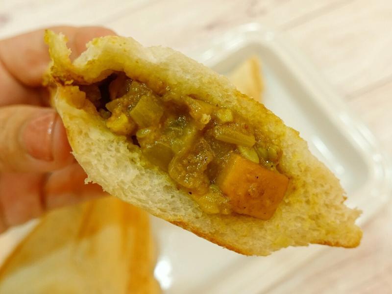 印度風咖哩雞熱壓三明治
