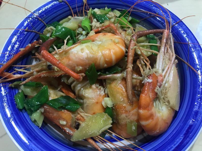 炒泰國蝦(居家簡易版)