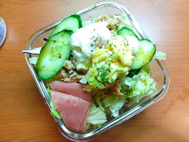 便利商店減肥餐-鮪魚營養沙拉