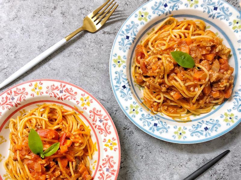 人妻料理-義大利肉醬麵(4人份)