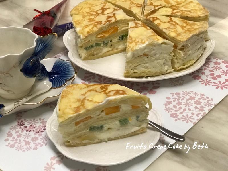 水果千層蛋糕 - 母親節