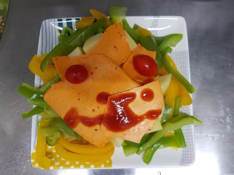 親子手作:吃菜的獅子-快手10分鐘