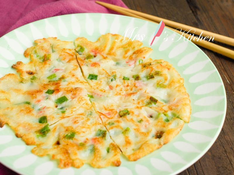 簡易版中式煎薄餅(薄撐)