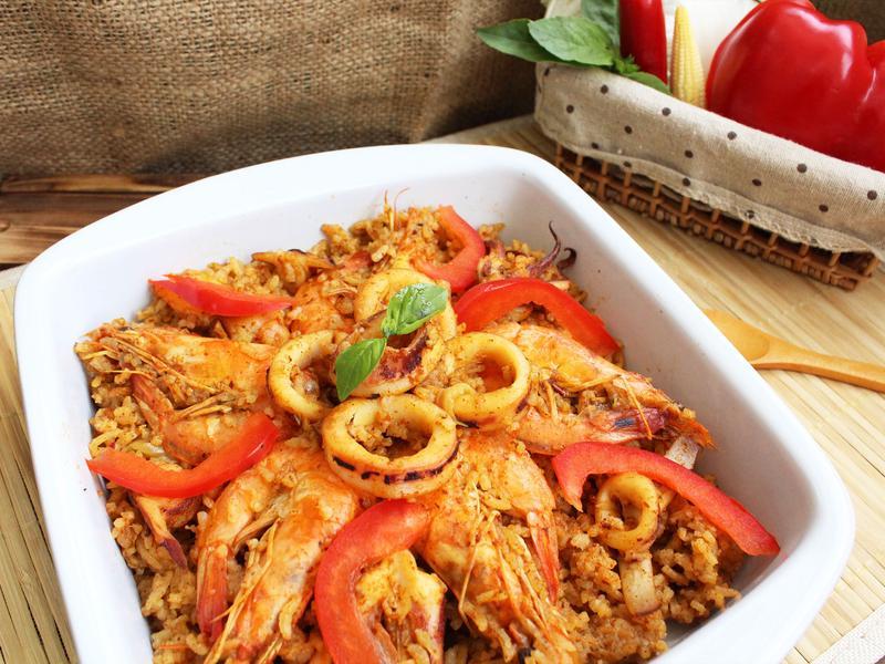 【小磨坊】西班牙海鮮飯