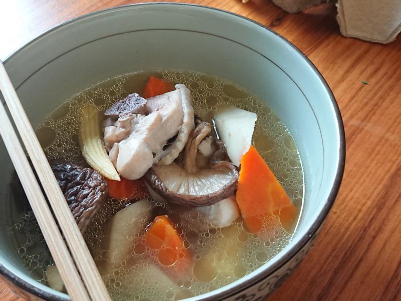 湯品-牛蒡香菇雞湯