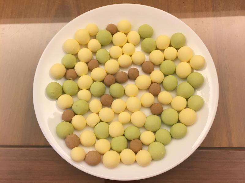 【兒童食譜】創意三色蛋黃小饅頭