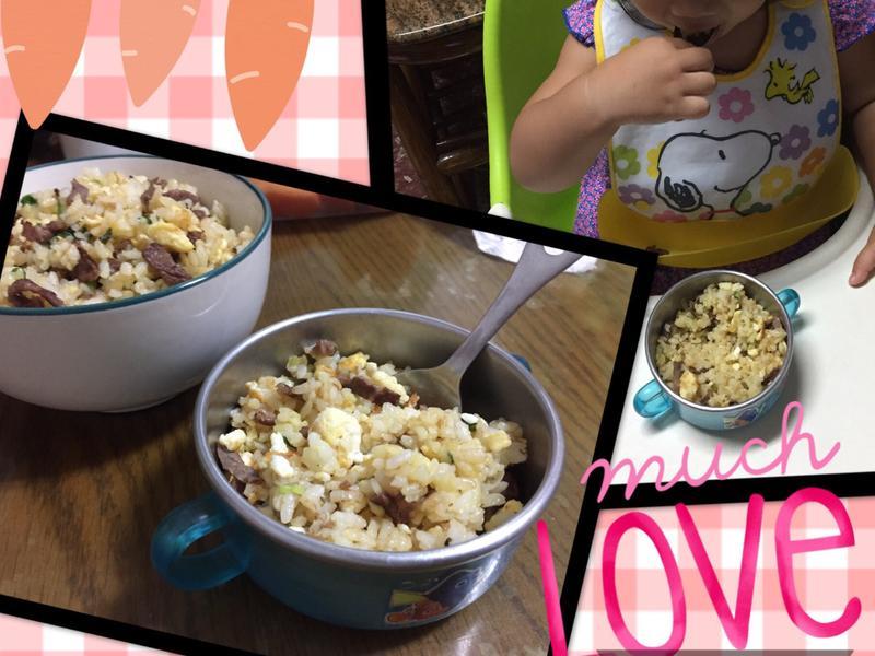 慵懶媽咪的牛肉蛋炒飯(2y)