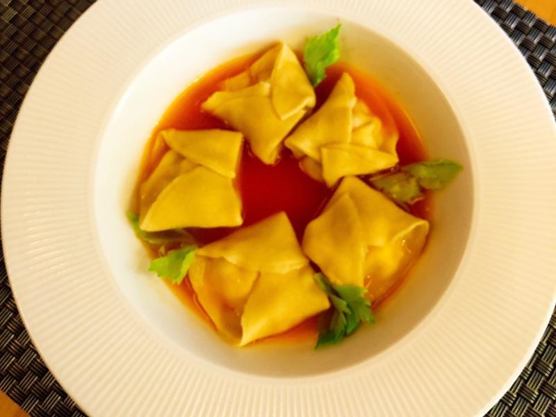 草蝦義大利湯餃