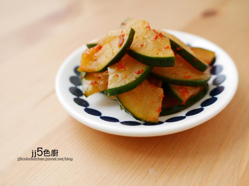 韓式醬炒大黃瓜