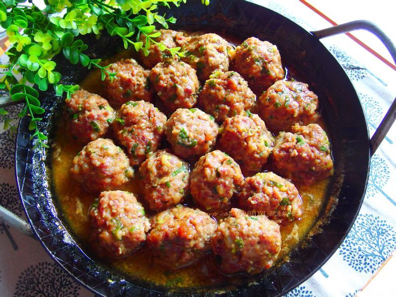家常香蔥肉丸子【一鍋煮到底】