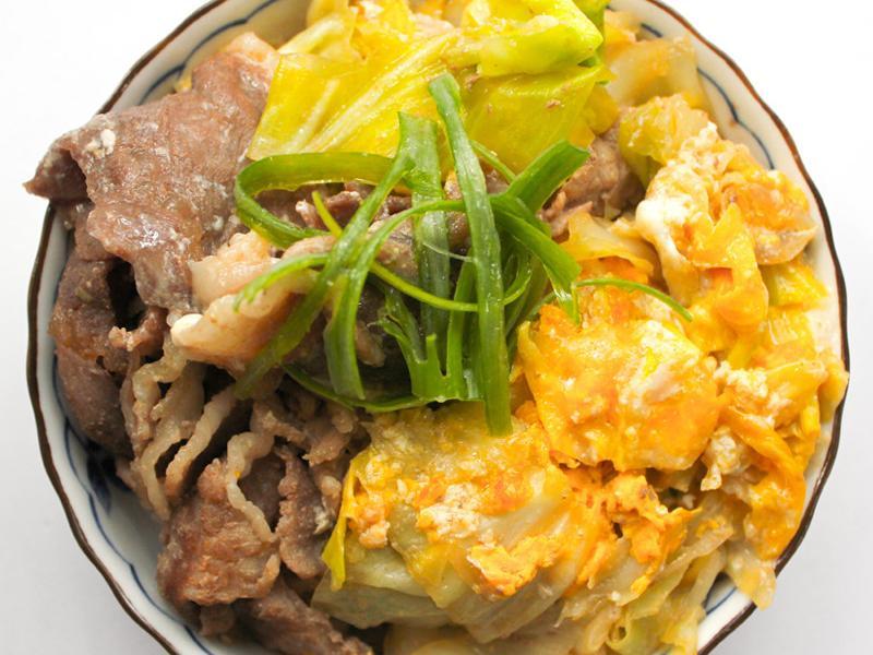 【厚生廚房】高麗菜豬肉蓋飯