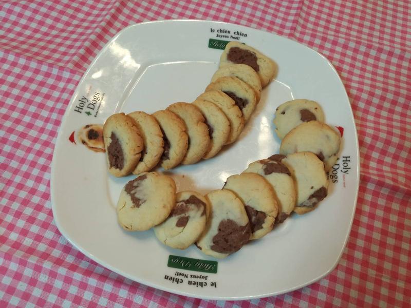 大理石雙色餅
