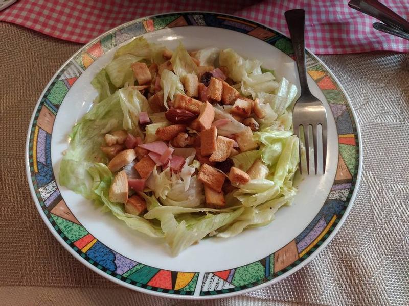 清爽歐風生菜沙拉
