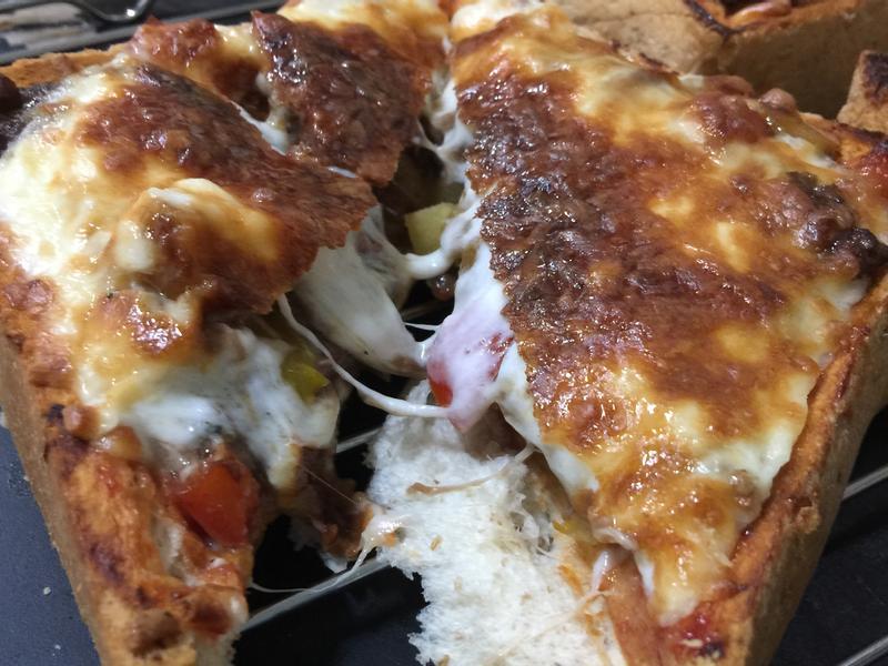 牛肉彩椒鳳梨披薩🍕