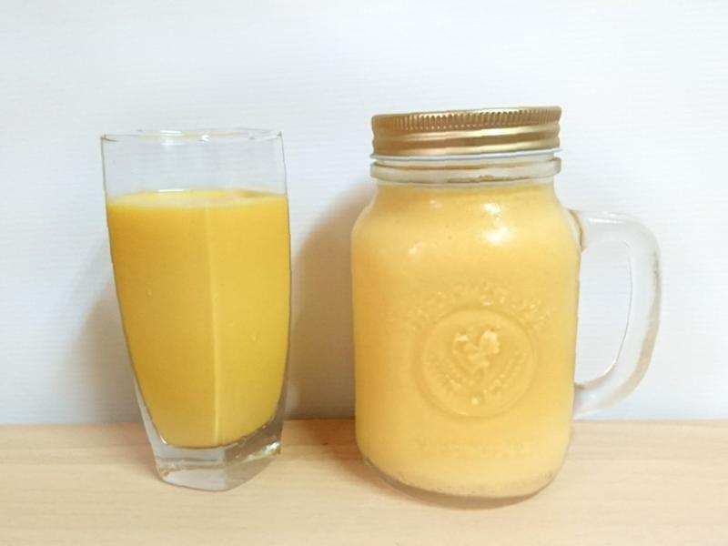 芒果牛奶(一人份)