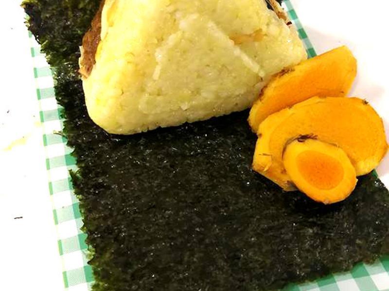 薑黃三角飯糰
