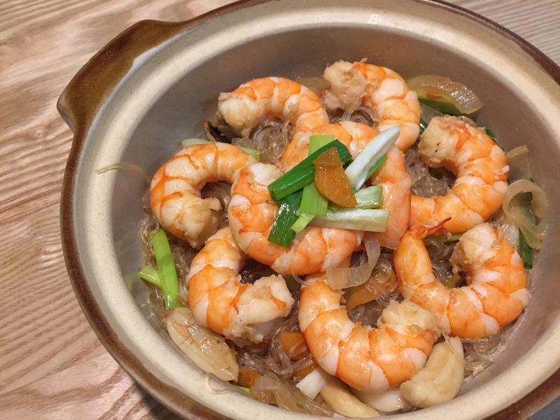 粉絲鮮蝦煲