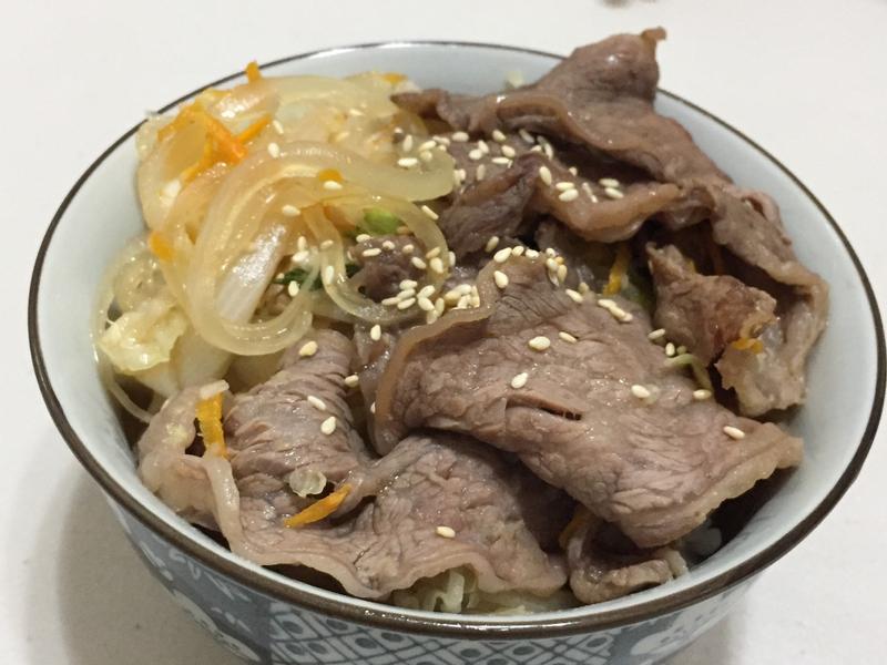快煮牛肉壽喜燒(飯)