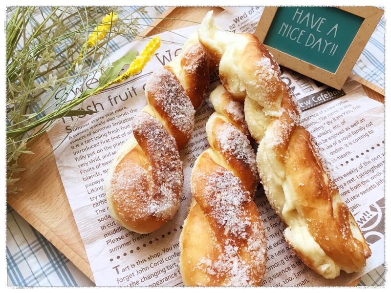 甜甜圈麵包 (鬆餅粉使用)