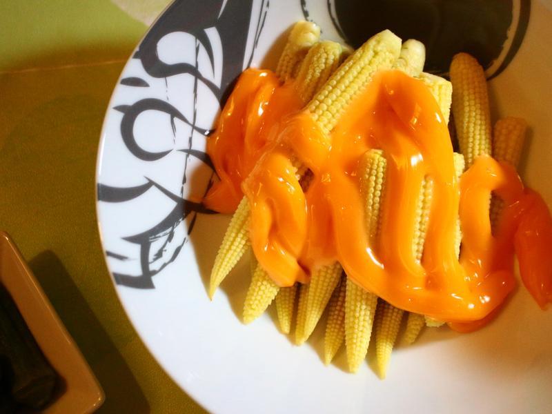 清燙甜玉米筍 低卡無負擔的青菜料理