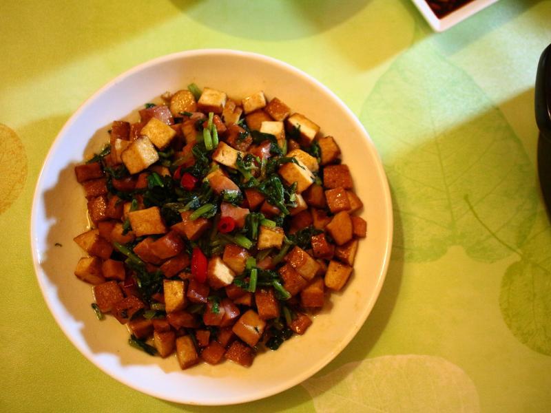 方干醃炒葉蘿蔔 鹹味適中配飯好下口