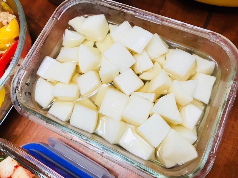 懶人料理百搭小菜:酸甜白蘿蔔塊