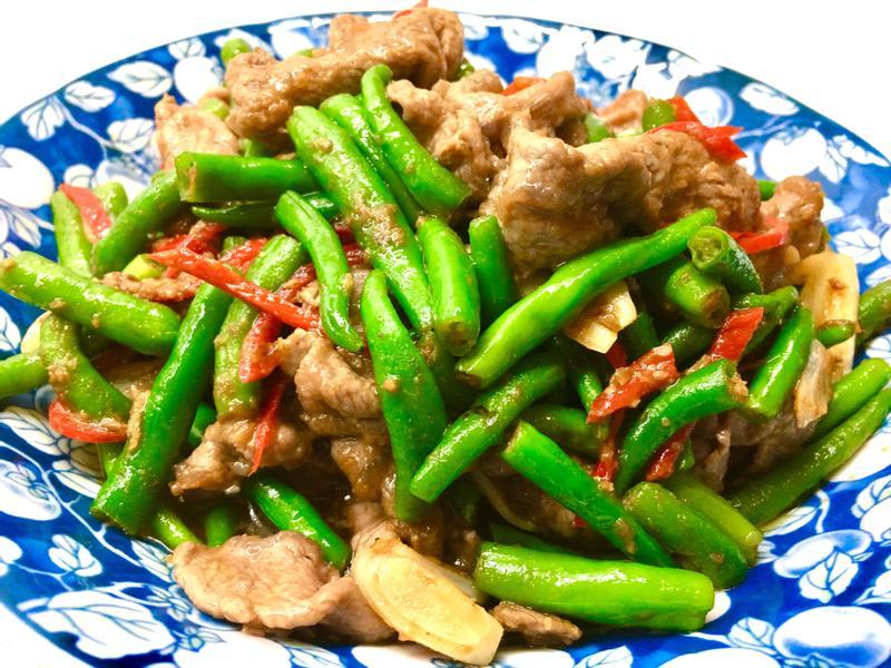 杭椒沙茶牛肉