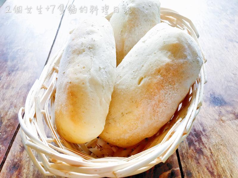 迷迭香風味巧巴達(拖鞋麵包)-詳細步驟圖