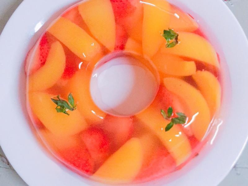 草莓水蜜桃果凍🍓🍑