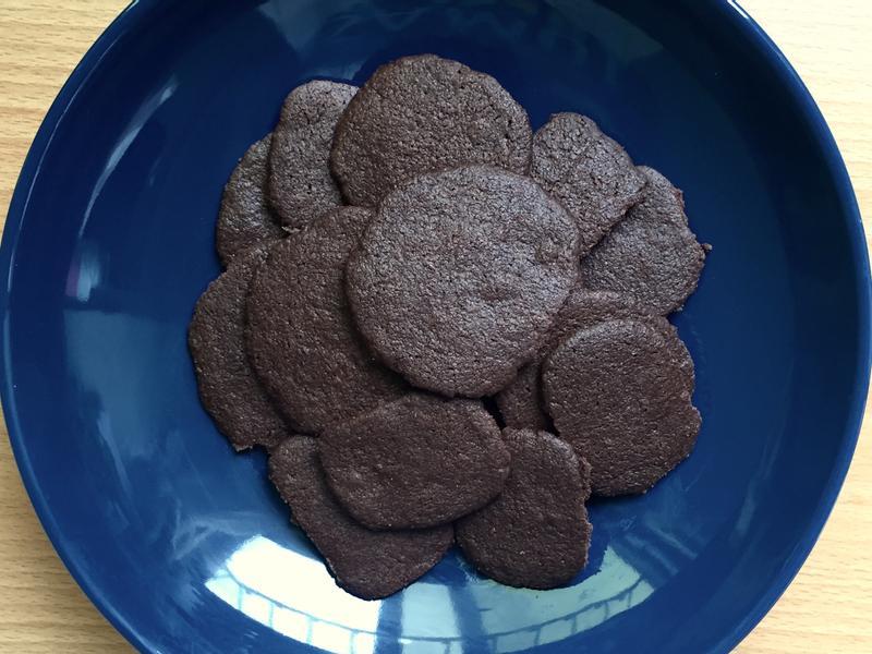 無蛋巧克力餅乾(脆 · 偏甜)