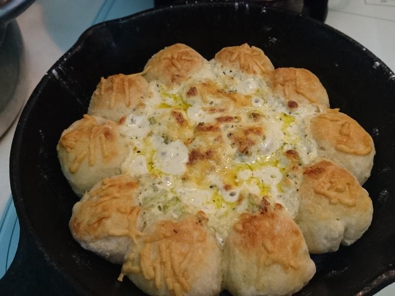 花椰菜焗烤起司麵包圈