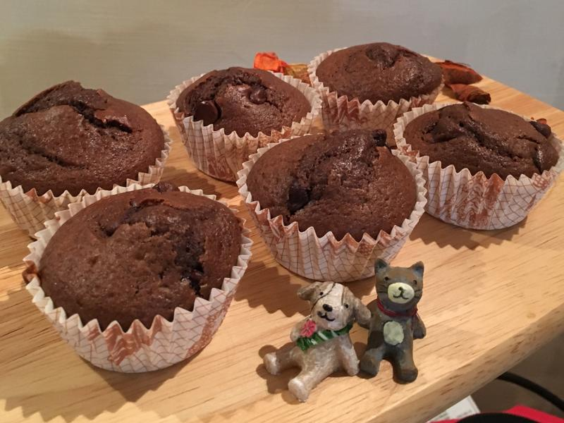 巧克力馬芬蛋糕 #新手推薦