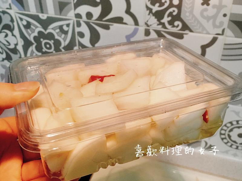 天然酸酸甜甜醃白蘿蔔