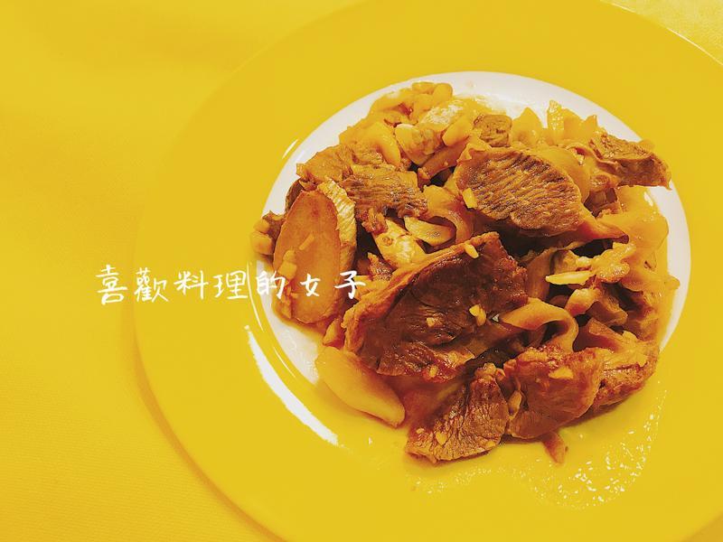 鹹香下酒炒肝連肉