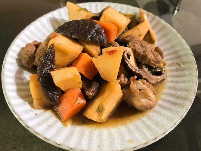 香菇筍子燒肉