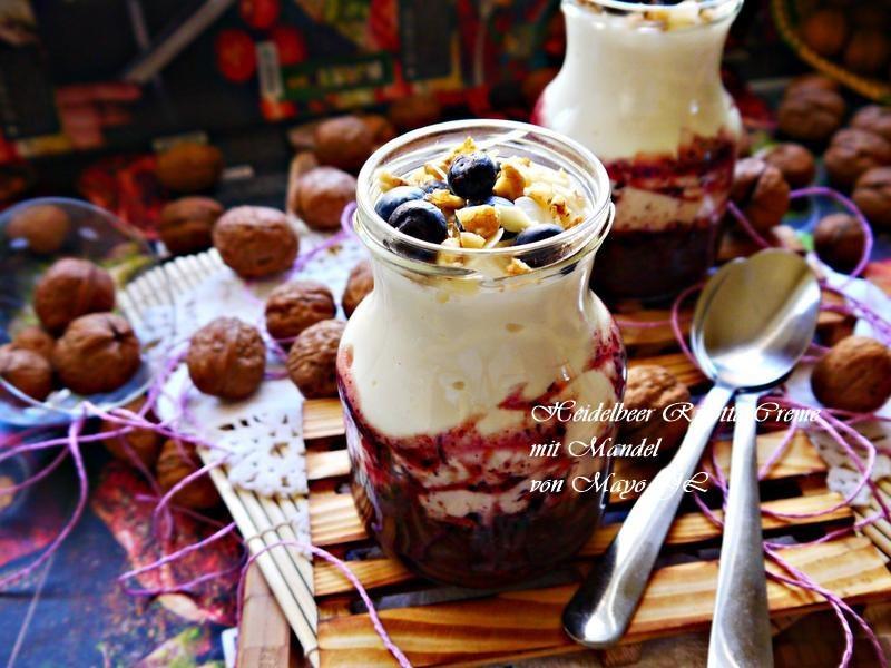 藍莓里考塔甜點杯