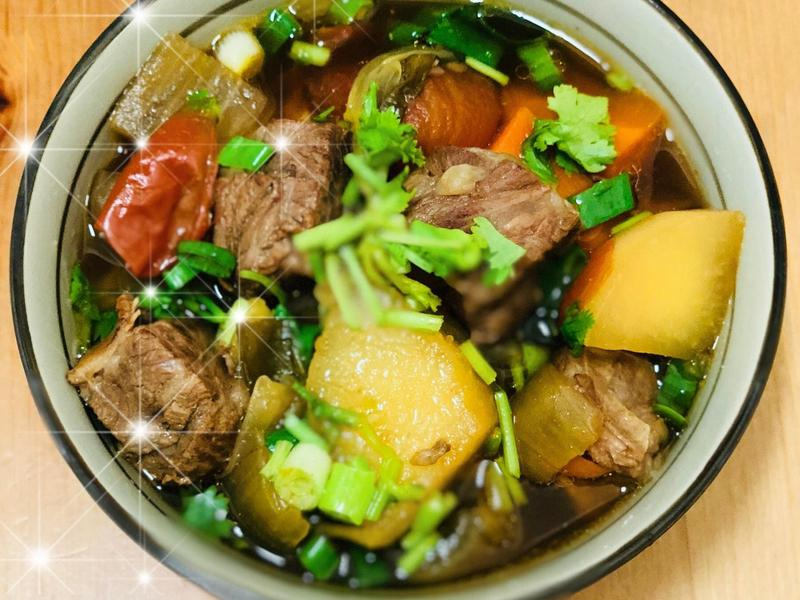 番茄牛肉湯麵🍅