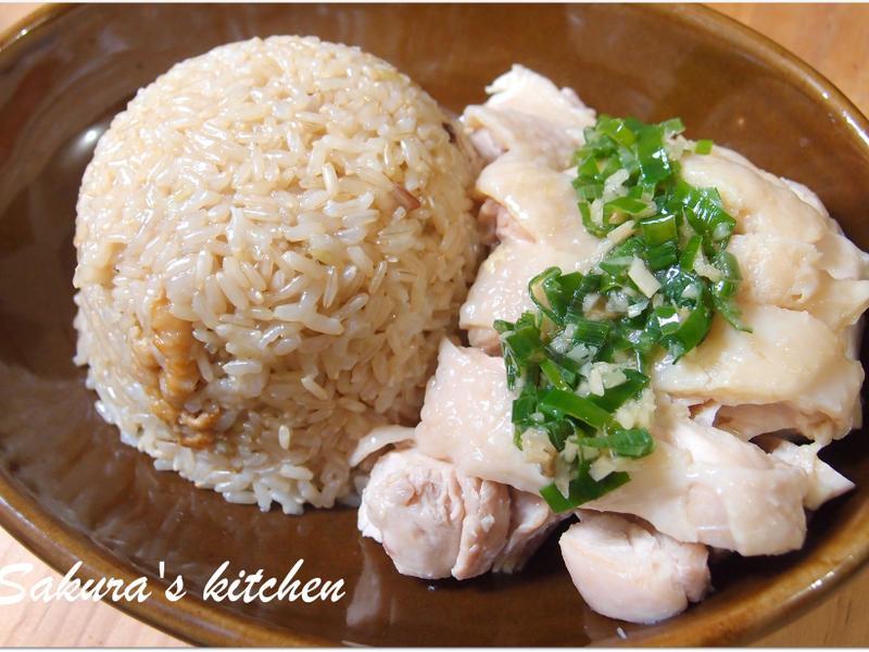 ♥我的手作料理♥ 簡易版海南雞飯