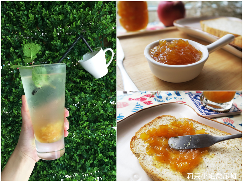 自製鳳梨果醬、鳳梨冰茶(麵包機料理)