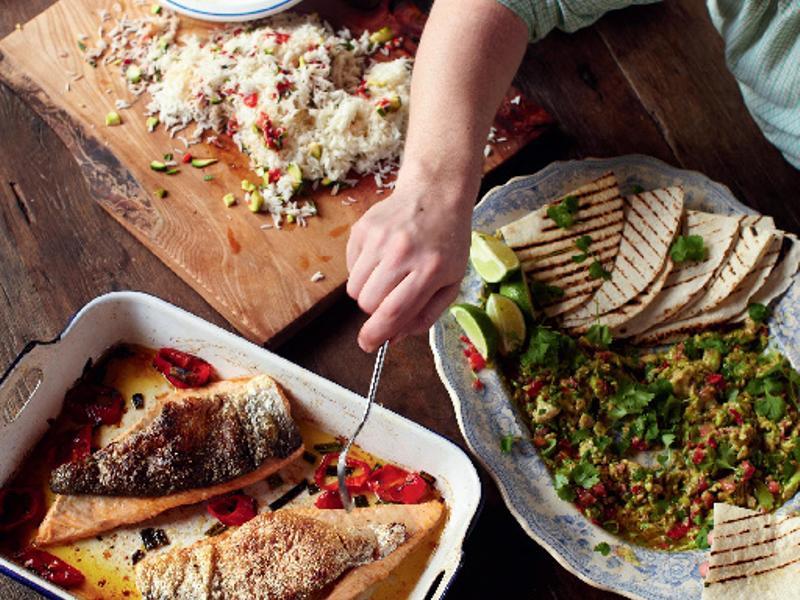 30分鐘上菜-酥脆鮭魚