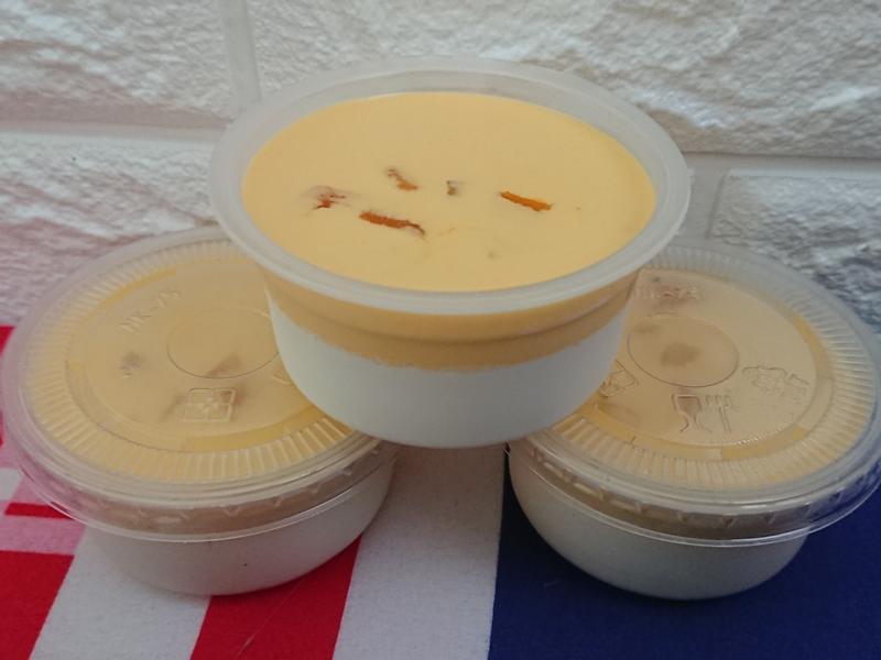 雙色芒果鮮奶酪